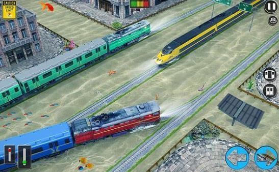 水下子弹头火车行驶
