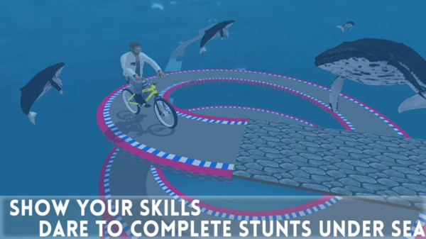 海底特技自行车