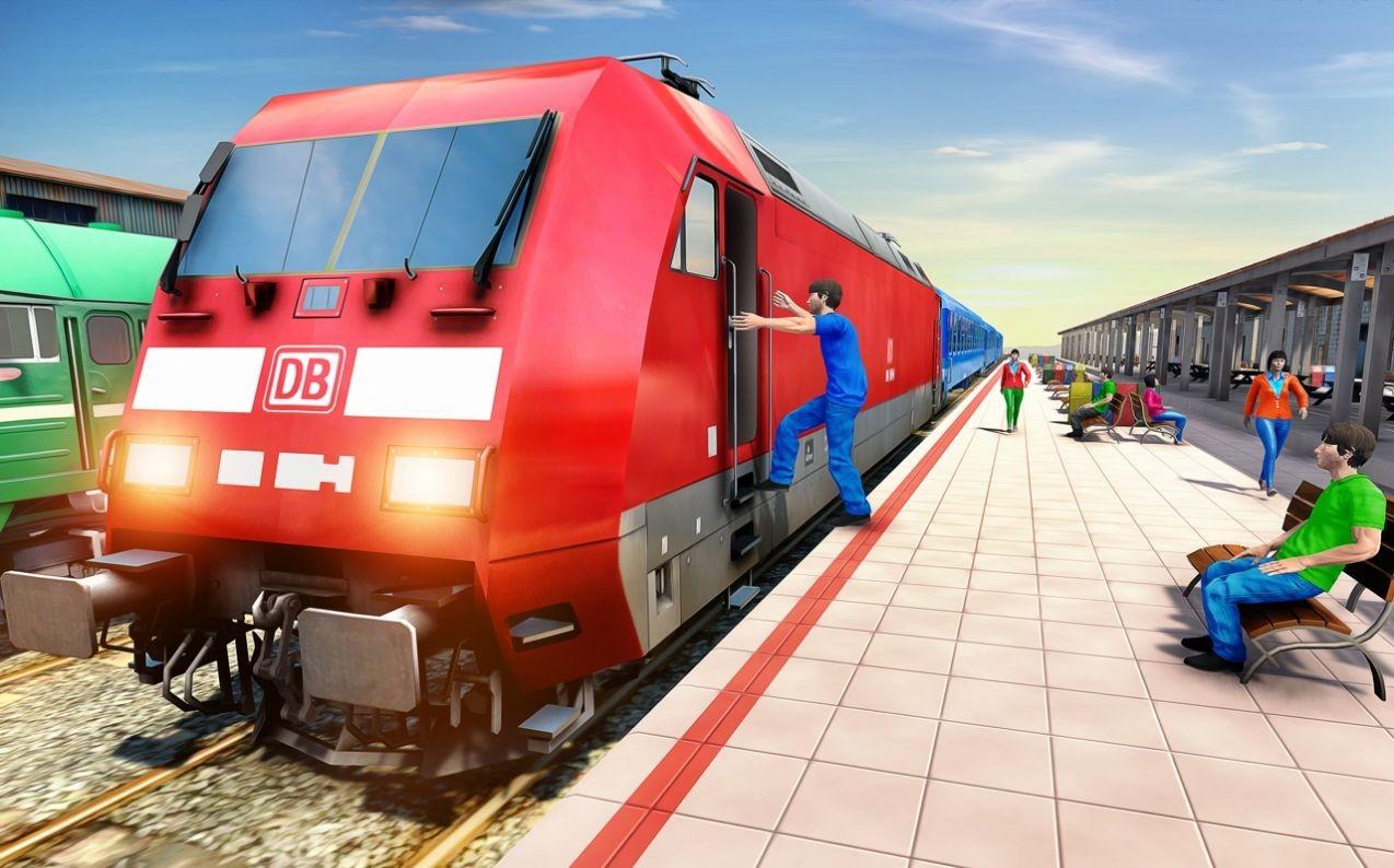 疯狂城市火车驾驶模拟器截图4