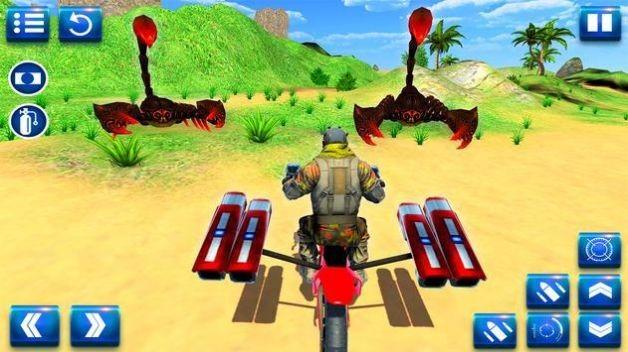摩托车沙滩搏斗截图3