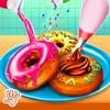 甜甜圈店童裝烹飪