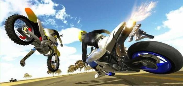 最真实摩托车驾驶游戏