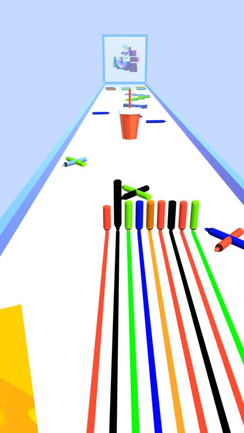 铅笔跑3D七彩线截图1