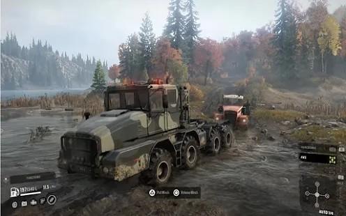 越野卡车泥浆驾驶截图3