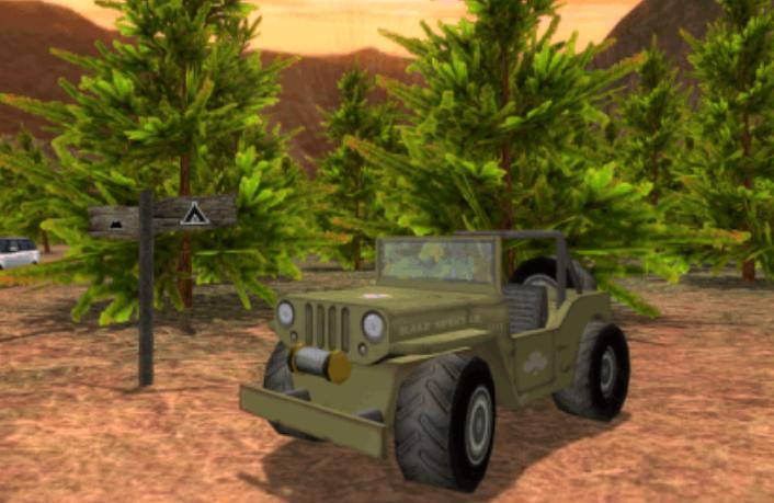 积木汽车驾驶游戏